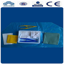 medical disposable sterile suture kit