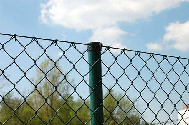 PVC coated chain link fence/Rockfall protection fence