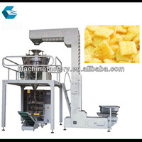 Automatic potato chips pouch packing machine