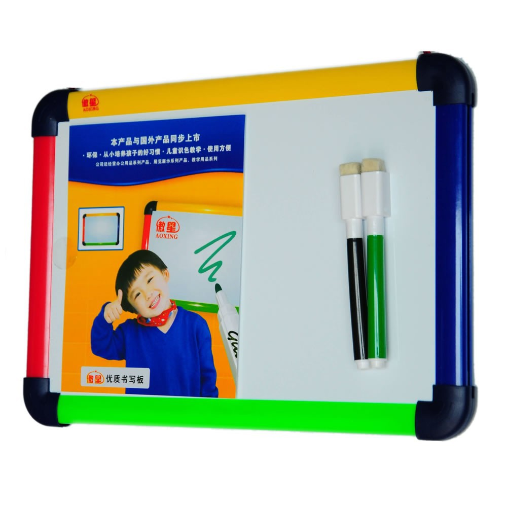 Whiteboard Supply Children Dry Eraser Writing Board /MINI Writing Board With Colourful Frame