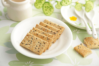 Top quality vegetarian food Sesame thin biscuit cookies for Adela brand