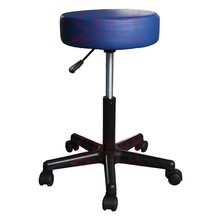 PVC Bar Stool leather bar chair and hydraulic rolling stool