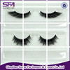 Qingdao top quality wholesale hand made synthetic false eye lashes extensions private label with glue