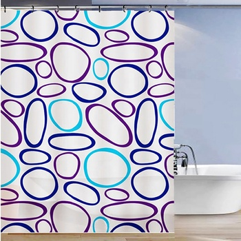 Production sales classy shower curtain 84 inch bathroom shower curtain
