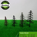 scale model plastic cedar tree