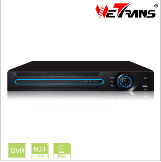 5 in 1 DVR In Hisilicon Chip OEM for IP/AHD/TVI/CVI/ Analog Camera 8 Channel 1080P CCTV DVR XVR5208D