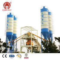 Advanced electric control concrete batching plant with CE certification