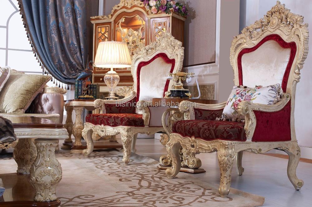 stijl woonkamer bankstel, houtsnijwerk woonkamer meubels, hele set ...