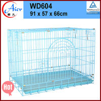 animal cage folding metal mesh dog cage