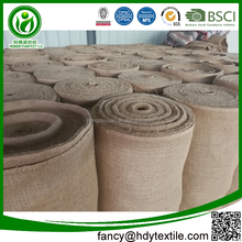Guangdong wholesale eco-friendly jute cloth jute cloth uses jute fabric burlap roll