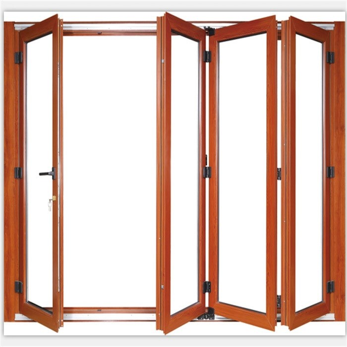 Folding exterior glass doors cost for Exterior folding doors