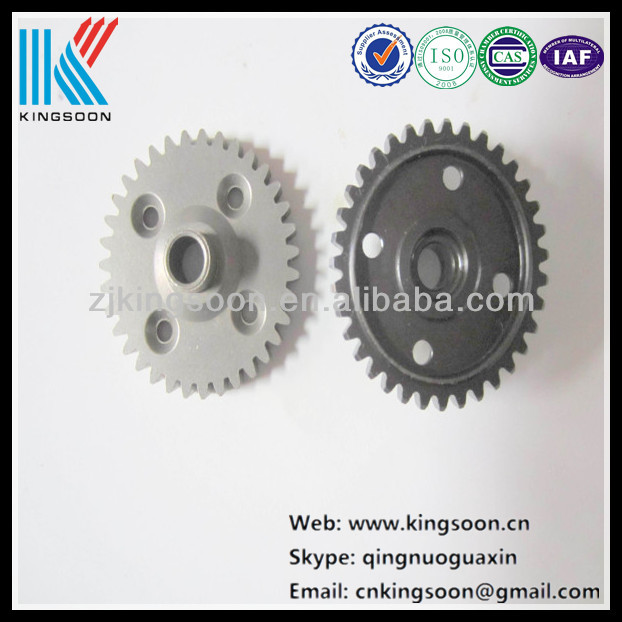 Helical gear wheel