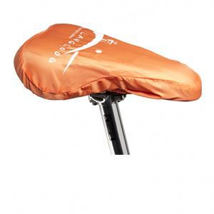 Promotional bicycle seat covers