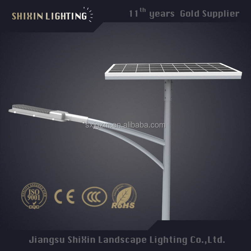 LED antique lighting pole 400watt street fixture empty for outdoor solar light
