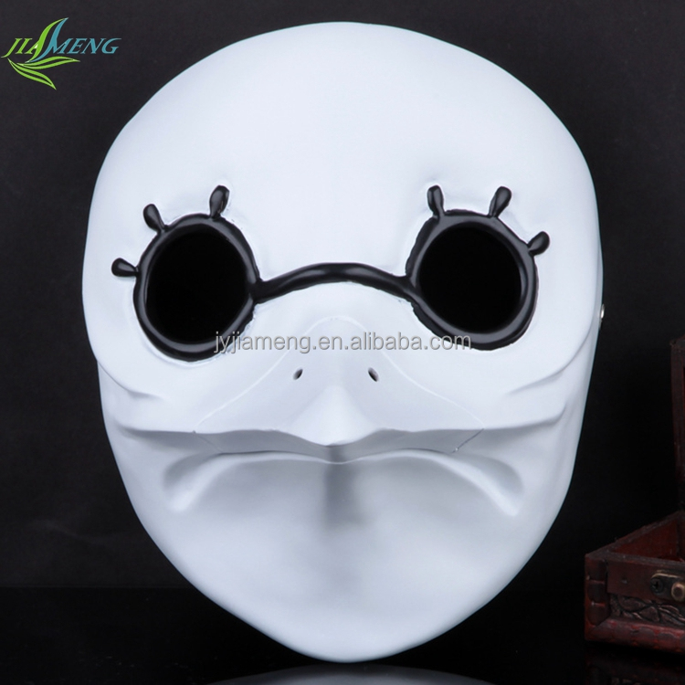 unique fashion mask cosplay party wholesale custom face ugly halloween mask