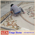 Beautiful marble flooring border designs