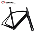 High quality new 2017 700c Di2 carbon fiber road bike frame with BB30/BF30