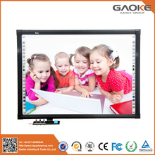 With data high quality polished freestanding magnet board interactive smart board