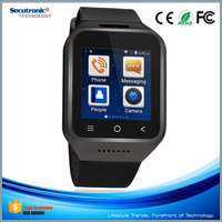 New 2016 3G MTK6572 Smartwatch Phone with CE FCC RoHS for Senior Samsung Galaxy Gear Etc Smart Phone