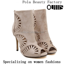 Mega March Sourcing 2017 Sexy hollow-out design high heel sandals for hot-selling PE4113