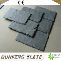 CE Passed Cheap And Natural Grey Stone Tile Slate Roof