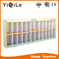 School bag wooden children's cabinet simple kids storage cabinets attractive wardrobe cabinet