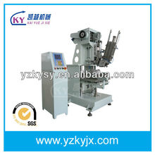 automatic 3 color brush and broom making machine