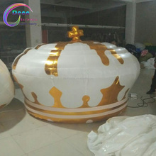 advertising inflatable replica gold crown