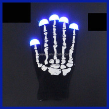 2016 Electronic Magic Lighted Up LED Gloves Colorful Led Flashing led Dancing Gloves