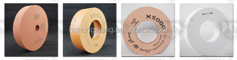 10S 40 diamond chamfer wheel for glass polishing rubber wheel