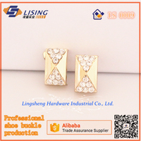 Mini stone shoe buckles for bag accessories in Fujian Quanzhou China
