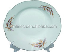 bulk cheap porcelain plate, plate serving dishesceramic plate factory in China
