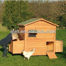 Egg laying wooden Poultry cage for chicken with nest box CC026