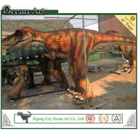 Robotic Dinosaur Costume Will Give U an Unforgettable Experience!