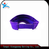 High quality uv summer sun visor hats without logo