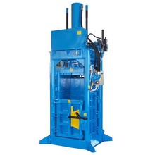 Electric vertical hydraulic cotton baler machine for vertical baling waste cotton&paper