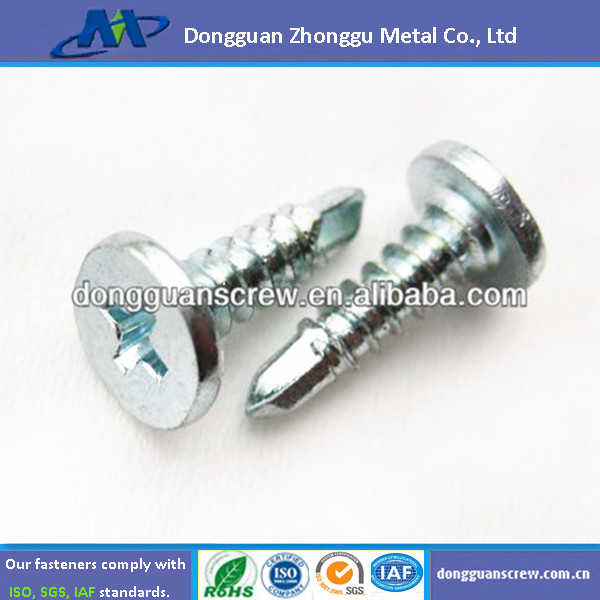 zinc plated self tapping screw cheap price chinese manufacturer