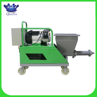 wall mortar spray plaster machine for wall