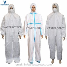 Disposable SBPP Micro porous Polyethylene Film 60g/m2 65g/m2 Coveralls
