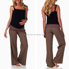 2014 Wholesale pregnant maternity tactical uniform pants hot selling maternity pants