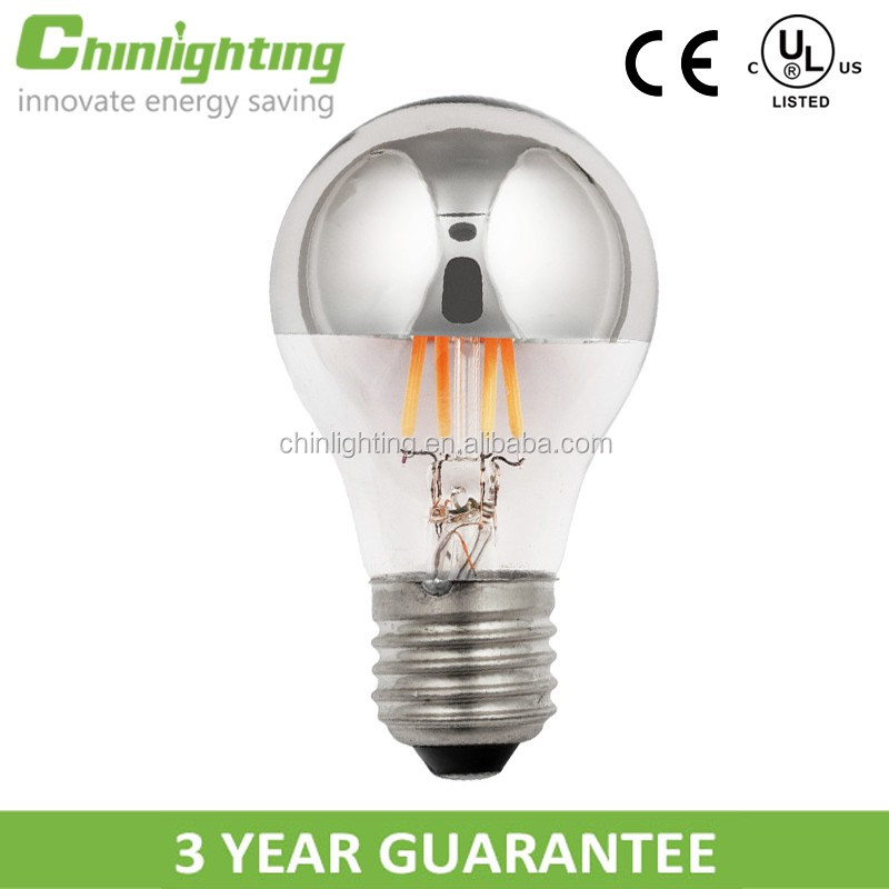 Sliver top a19 a60 e26 e27 ul ce rohs energy star led lamp bulbs