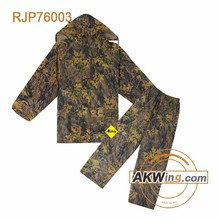 Camouflage Disposable Raincoat Combat Rain Poncho For Outdoor Use Military Raincoat