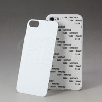 Sublimation cell phone case for iPhone 5 5s with metal sheet