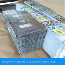 MANUFACTURER Aluminium Foil with paper for butter pack