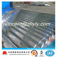 corrugated aluminum roof panels with different type of roofing sheets