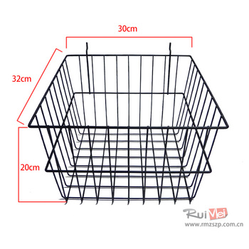wire baskets suit for pegboard and gridwall