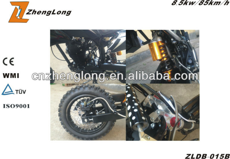 Zhenglong Motorcycle Model 150cc With Dirt Bike
