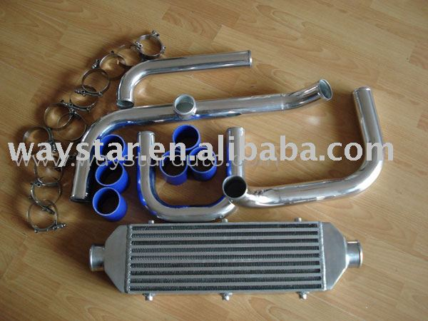 Front mount intercooler kit for Honda Civic Integra