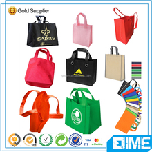Decorative non woven tote shopping bags name brands wholesale