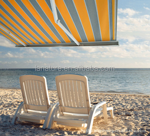 high quality beach full cassette awning with acrylic cloth